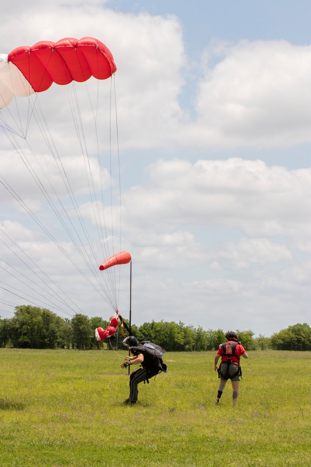 Amputee Skydiving Event